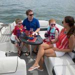 Aile tipi gezi teknesi Lüks Fiber Amerikan FORMULA