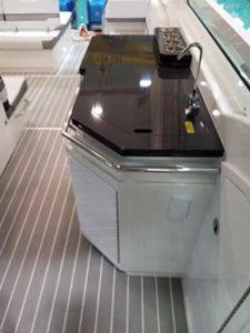 Formula lüks tekne mutfağı