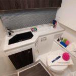 kamaralı lüks tekneler WC kabini