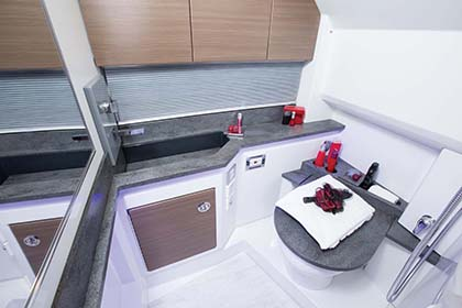 Tekne tuvalet ve duş kabini - FORMULA
