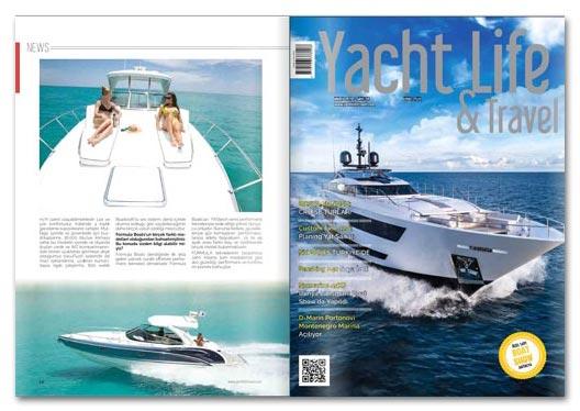 Yachtlife dergi haberi Tekne