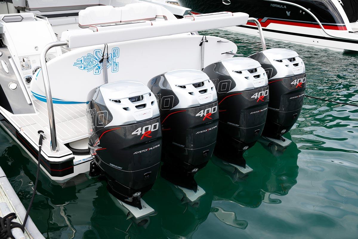 Teknelerde iki veya daha fazla motor