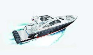offshore tekne Mercury Verado Racing Formula