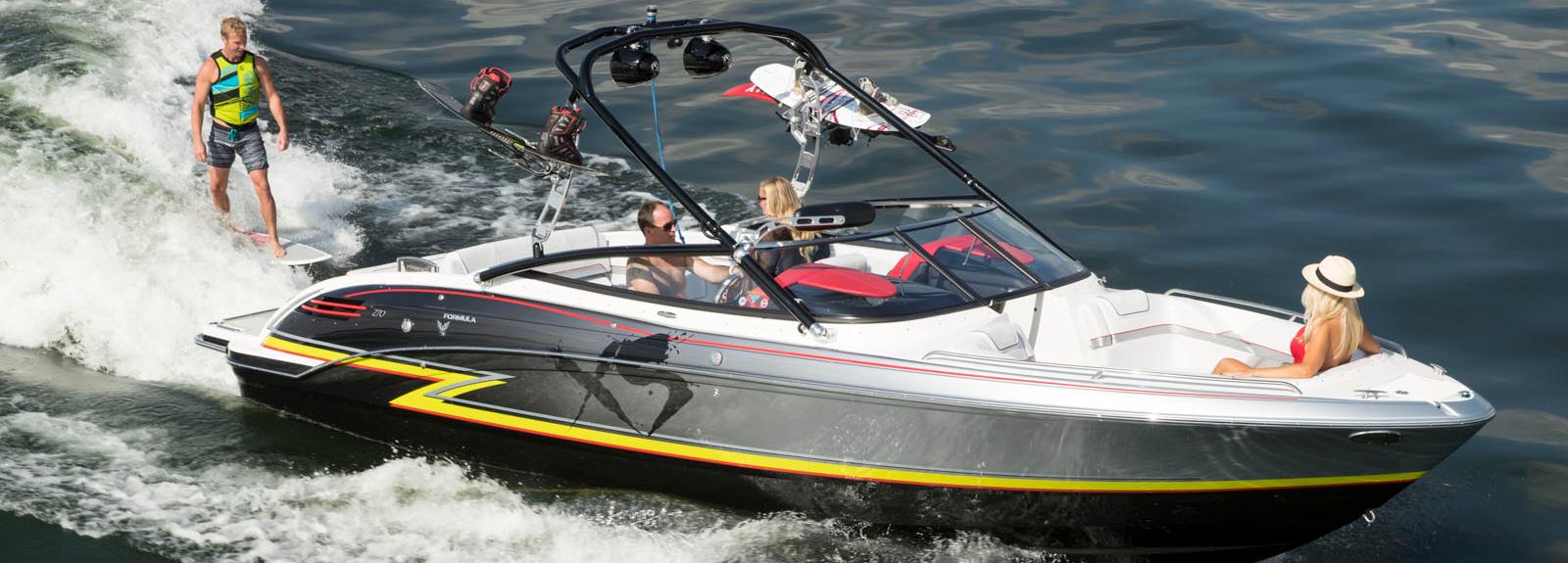 su kayağı wkaesurf wakeboard teknes Formula XS 270